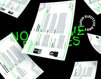 Visual Identity: Open Electives at NID