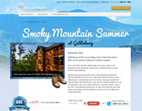 Landing Pages for Summer Destinations