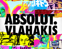 Absolut Vlahakis. Absolut Vodka Art Collaboration