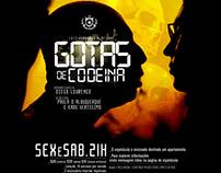 Identidade Visual } Gotas de Codeina | Teatro