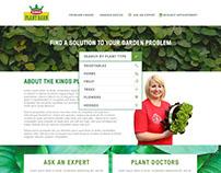 Kings's PlantDoctor Microsite