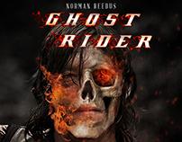 Fausse affiche du film Ghost Rider avec : Norman Reedus