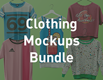 Clothing Mockups Bundle - For Men and Women.