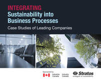 Stratos Inc. | Industry Canada Sustainability Brochure