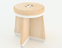 Dart stool