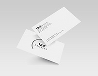180 Degrees - Business Card