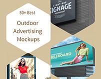 50+ Free Outdoor Advertising PSD Mockups (2020 Update)