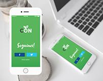 Brand identity for Conciencia Sustentable Blog