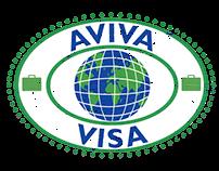 Logo Design - Aviva Visa