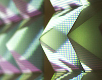 Crystals – Reactive Projection Mapping