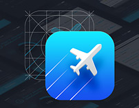 123FLY.ru UX/UI iOS app