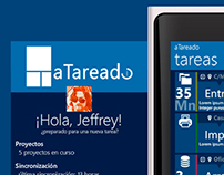 © aTAREADO Windows Phone Task management app