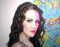 Retrato personalizado estilo Realista / Pop Art