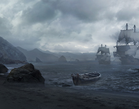matte painting study/Anthony_Eftekhari