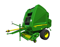 Models for games - John Deere 864