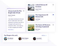 Day 516: Blog Mini UI Kit