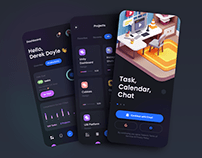 TaskEz: Productivity App iOS UI Kit