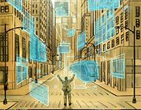 Ilustração - capa revista Smart City