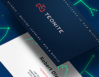 Photoluminescent Business Card - identity