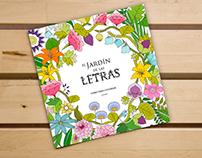 El jardín de las Letras, abecedario para colorear