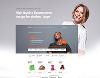 Fashion Ecommerce Web Design