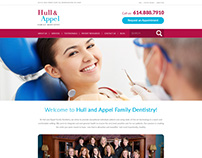 Website Design for Dental Hospital ( family dentistry )