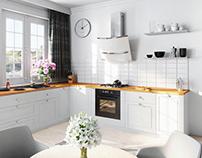 Bright Kitchen Visualization