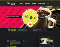 Card Eat Out Project Website, 2013