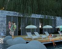 'modern landscape design 'designed by Ebru Yücesan
