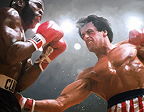 """Rocky III"" movie poster"