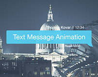 Text Message Animation | FREE After Effects Template