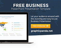 Free Business PowerPoint Template by Louis Twelve
