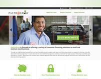 PayProGrow Homepage Design