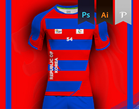 South Korea Home kit 2016 - Kabbadi World Cup
