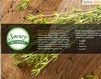 Savory Harvest