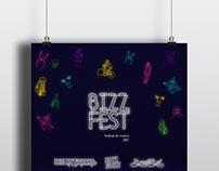 Afiche Bizz fest