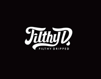 Filthy Dripped Clothing Apparel Design