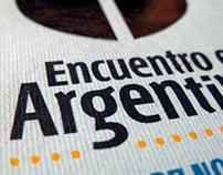 Encuentro en Argentina · Diseño Editorial
