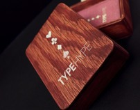 'Type Hype' Typographic Playing Cards