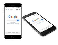 Google Landing Page Design