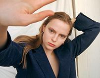 Online photoshoot with Ksenia
