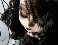 One of a Kind Series - Customized Pullip - Satine