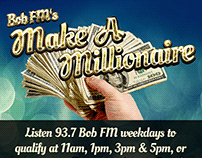 Make a Millionaire Promotional Web Graphic