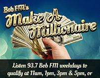Make a Millionaire Promotional Web Graphic