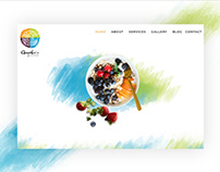 Website Design & Branding Gayatri's Nutrisolutions