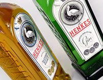 Henkes bottle, label and identity design