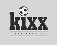 Kixx Logo concept