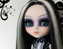 One of a Kind Series - Customized Pullip - Orchid