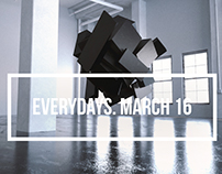 everydays. march 16