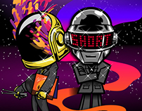 Daft Punk homage collaboration